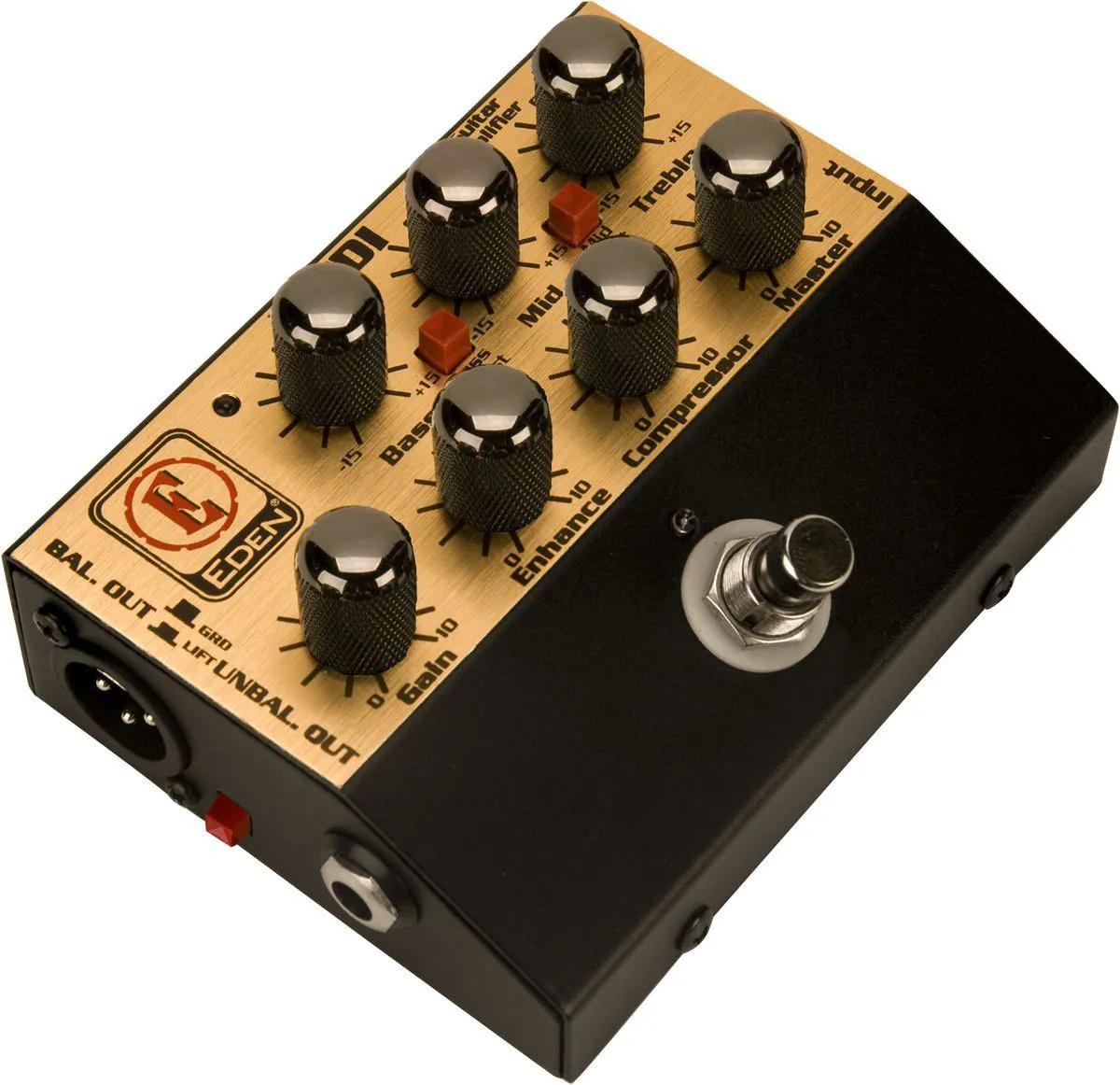 Pedal pre-amplificador com direct box - WTDI-B - EDEN