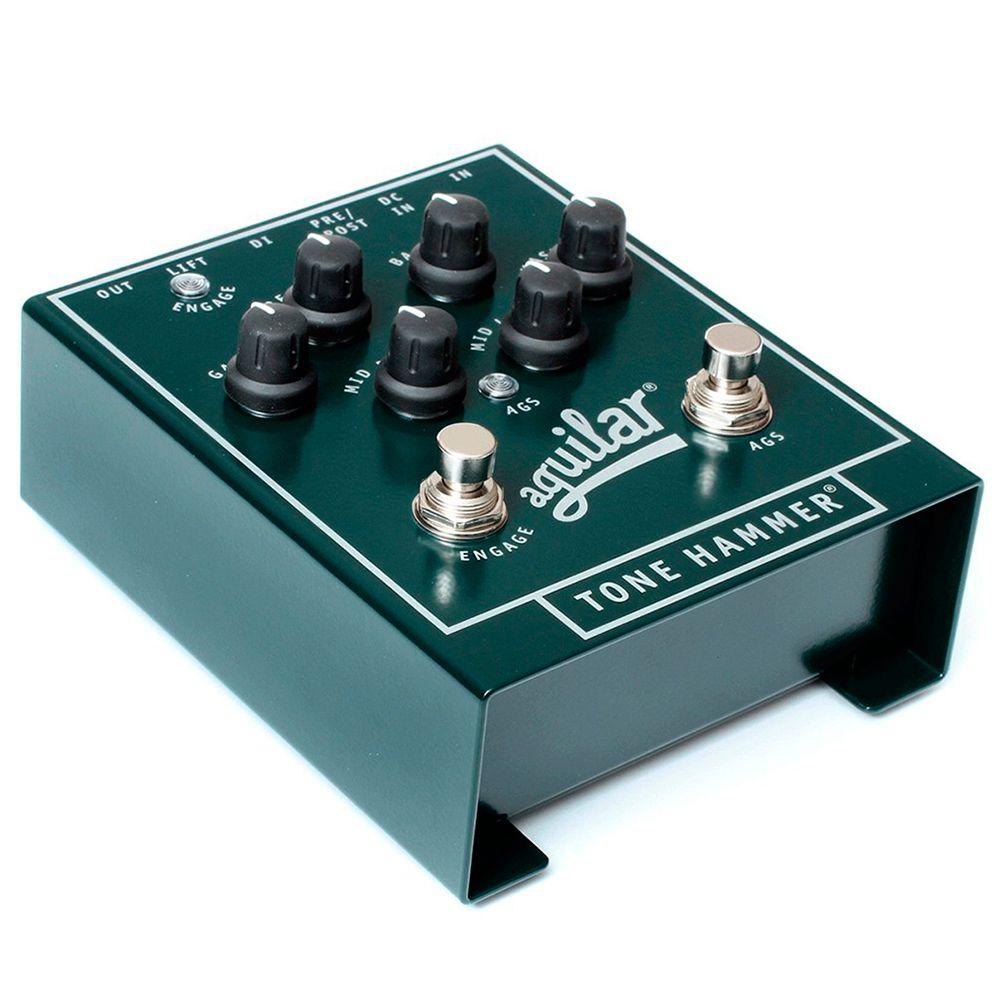 Pedal Preamp Aguilar Tone Hammer Direct Box para Contrabaixo