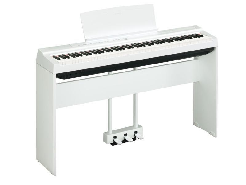 Pedal Triplo Yamaha LP1 Branco para Piano P125