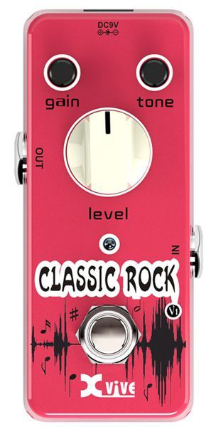 Pedal Xvive V1 Classic Rock Overdrive