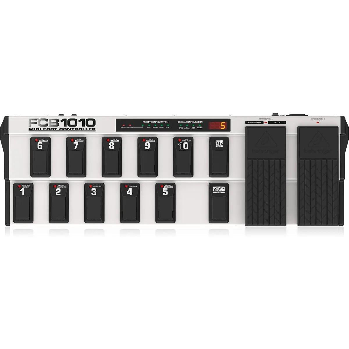 Pedaleira Controladora Behringer MIDI FCB1010