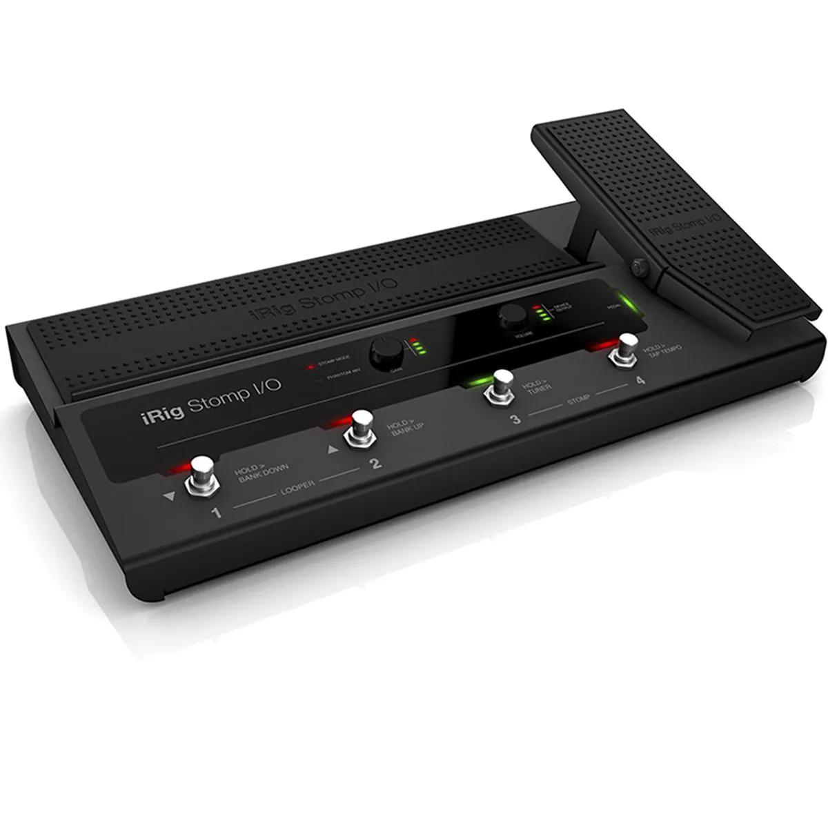 Pedaleira IK Multimedia iRig Stomp I/O Control USB