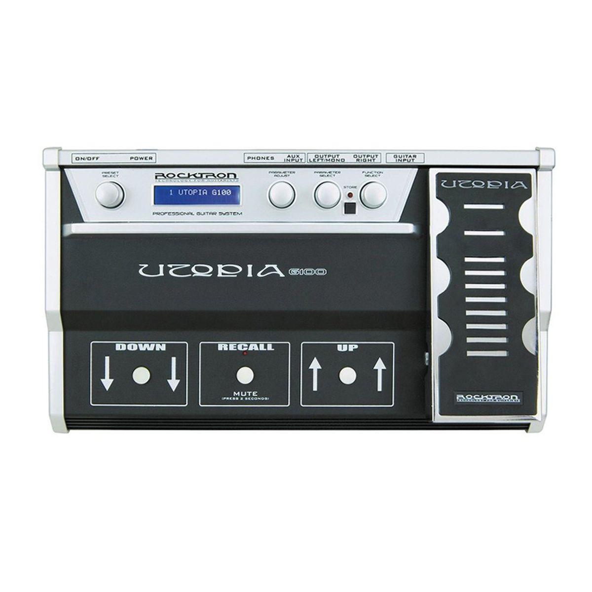 Pedaleira Multi-Efeitos Rocktron Utopia G100