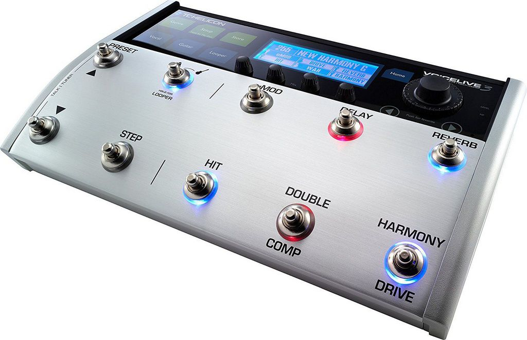 Pedaleira TC Helicon Voicelive 3