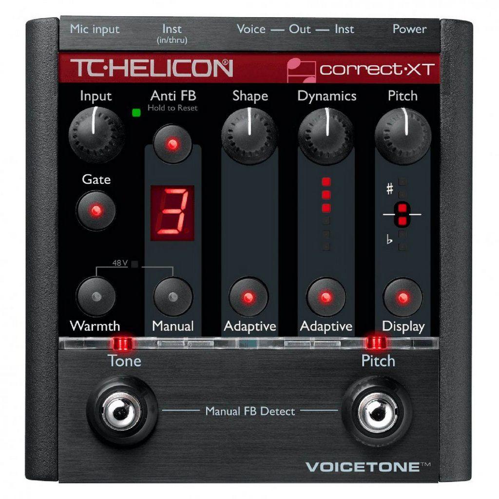Pedaleira TC Helicon Voicetone Correct XT