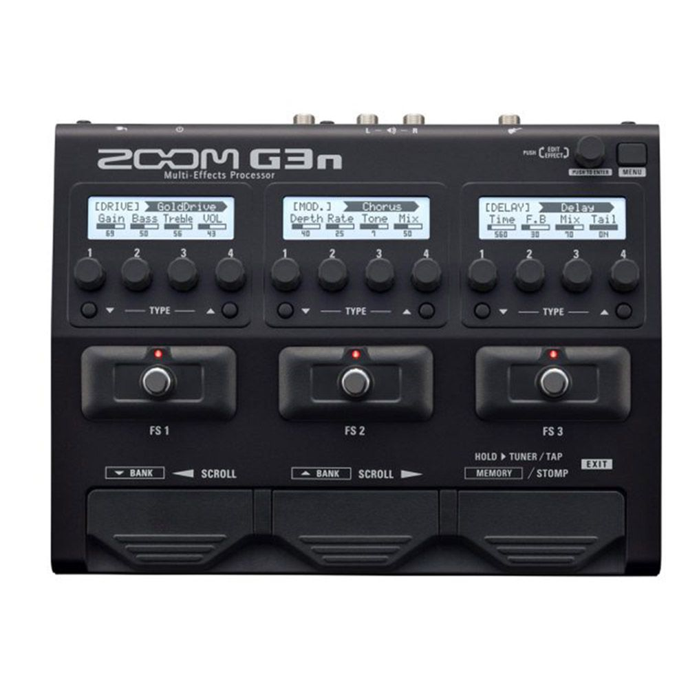 Pedaleira Zoom G3n Multi-Effects para Guitarra