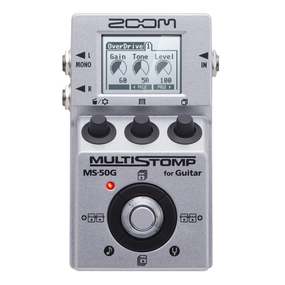 Pedaleira Zoom MultiStomp MS 50G para Guitarra