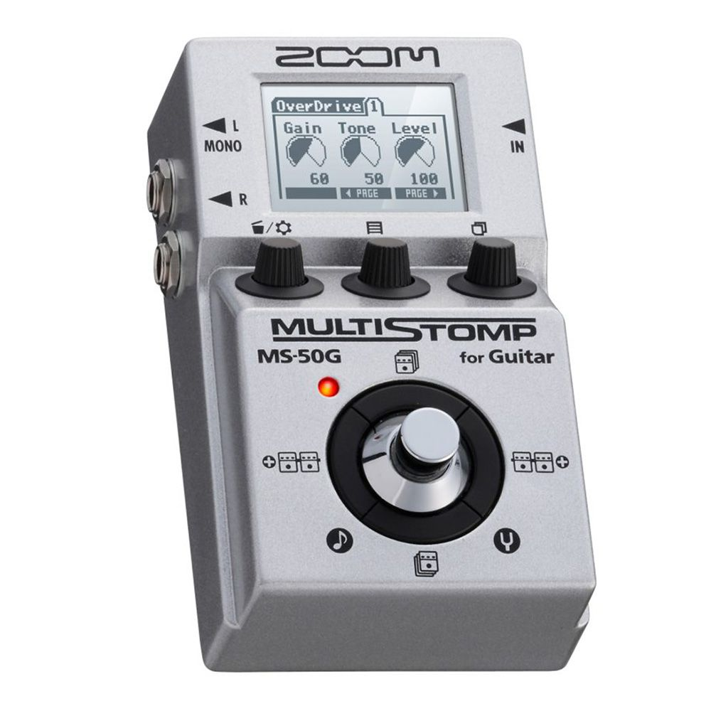 Pedaleira Zoom MultiStomp MS 50G para Guitarra