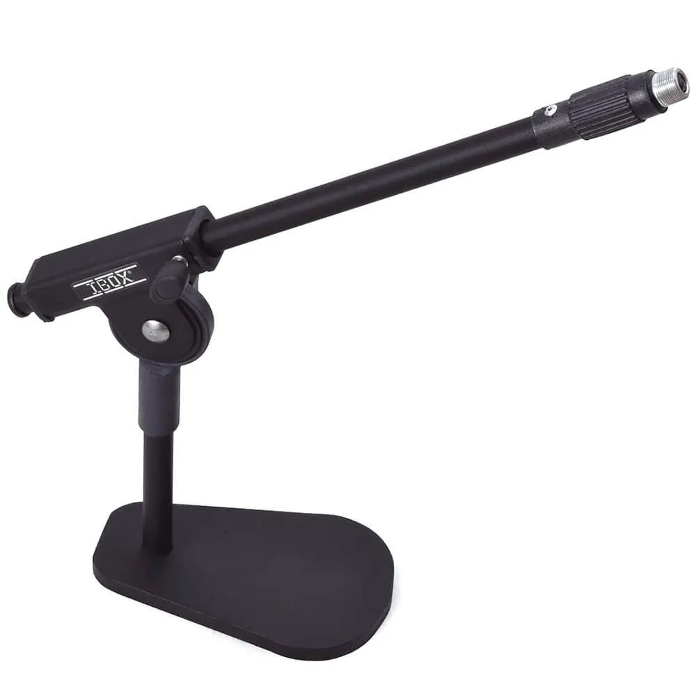 Pedestal de Mesa Ibox SMMS Suporte para Microfone