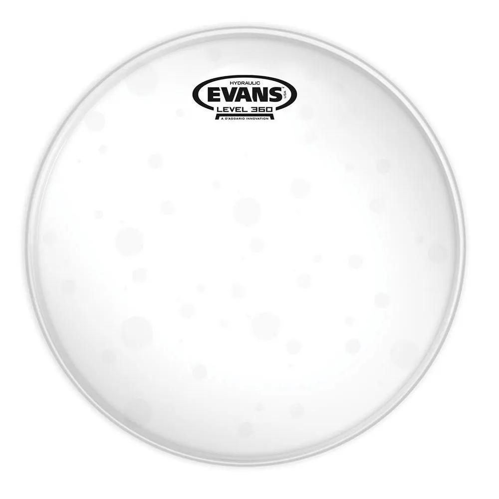 Pele Evans TT10HG 10 Hidráulica Glass Transparente para Tom