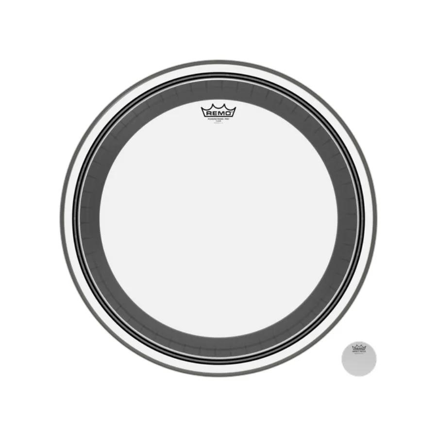 Pele P/ Bumbo 22 Pol Powerstroke Pro Transparente Pr-1322-00 Remo