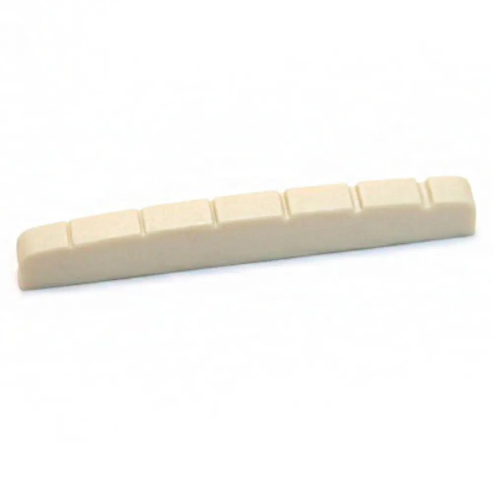 Pestana Nut Dolphin 43mm Branco para Guitarra Strato