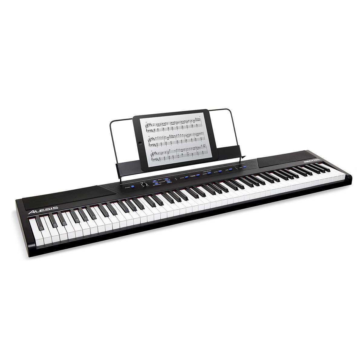 Piano Digital Alesis Recital 88 Teclas