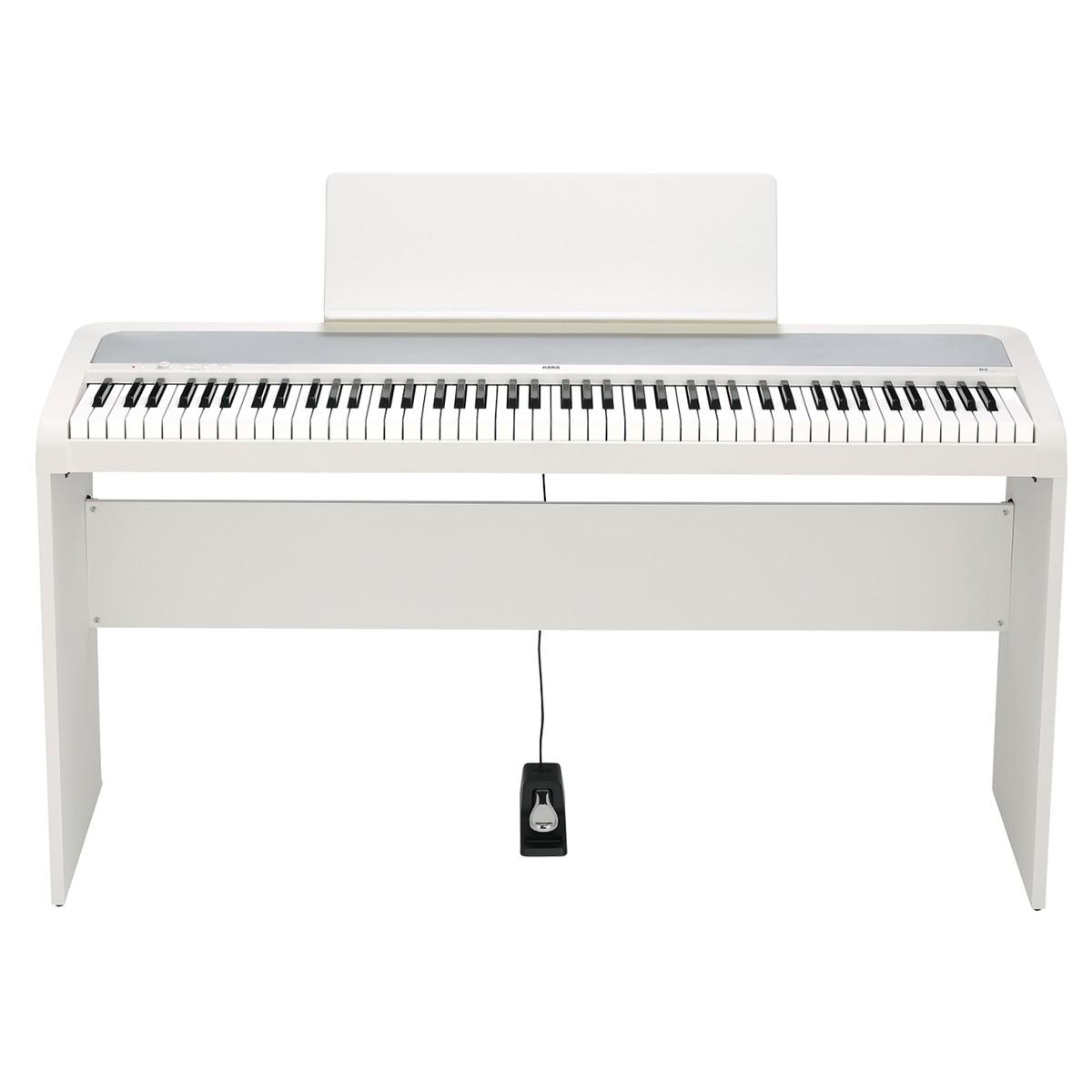 Piano Digital Korg B2 Branco 88 Teclas