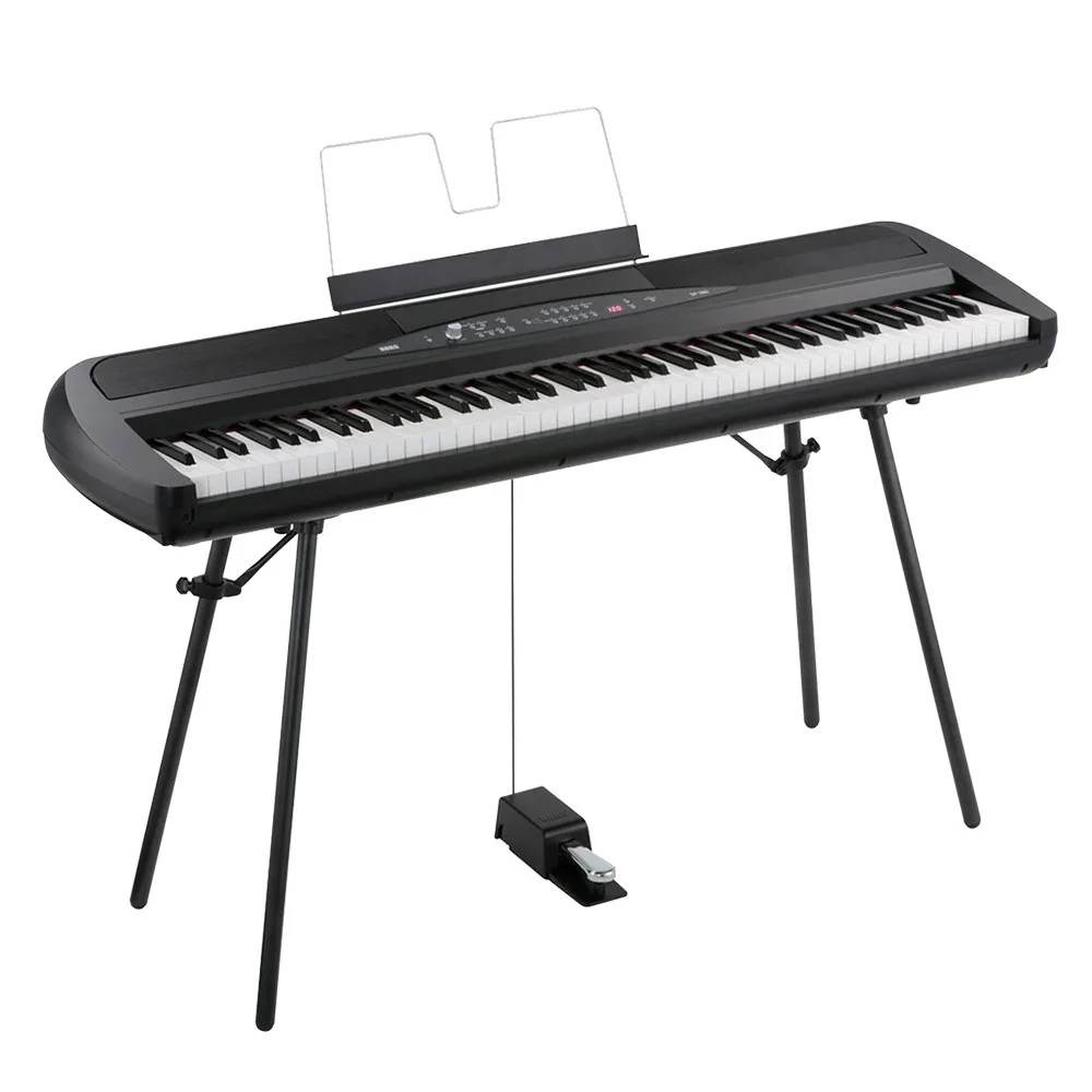 Piano Digital Korg SP-280 Preto 88 Teclas