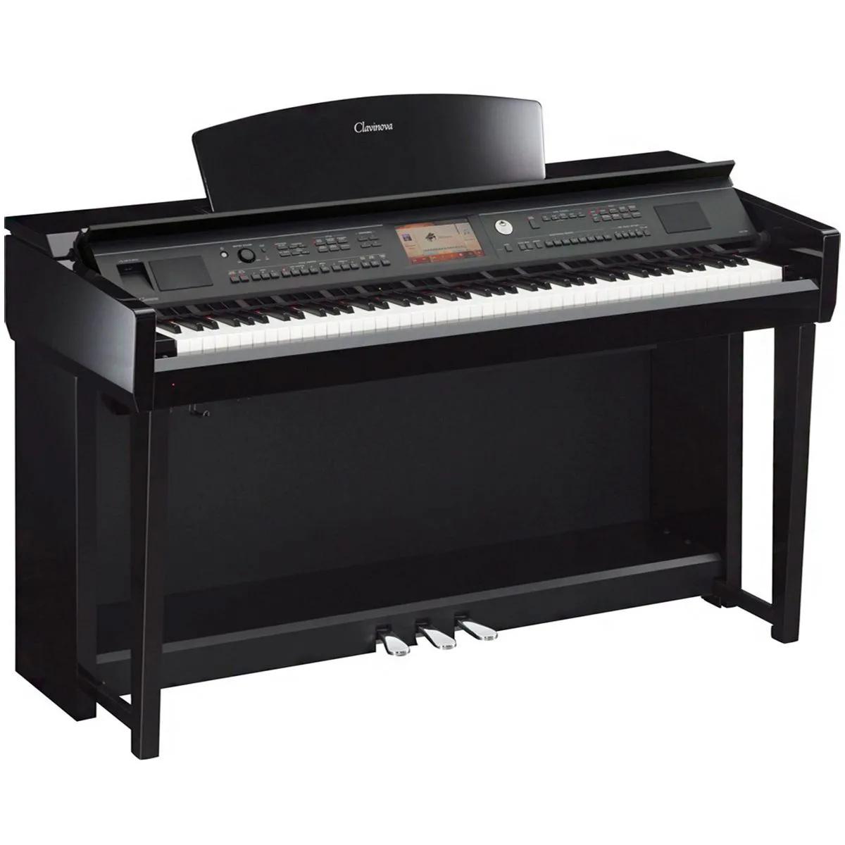 Piano Digital Yamaha Clavinova CVP705 88 Teclas com Estante