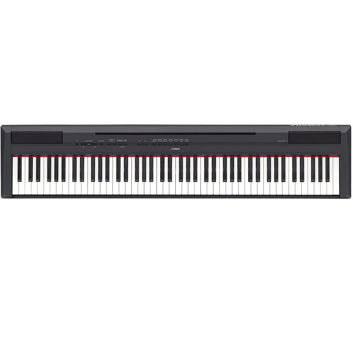 Piano Digital Yamaha P115 Graded Hammer Standard Black 88 Teclas