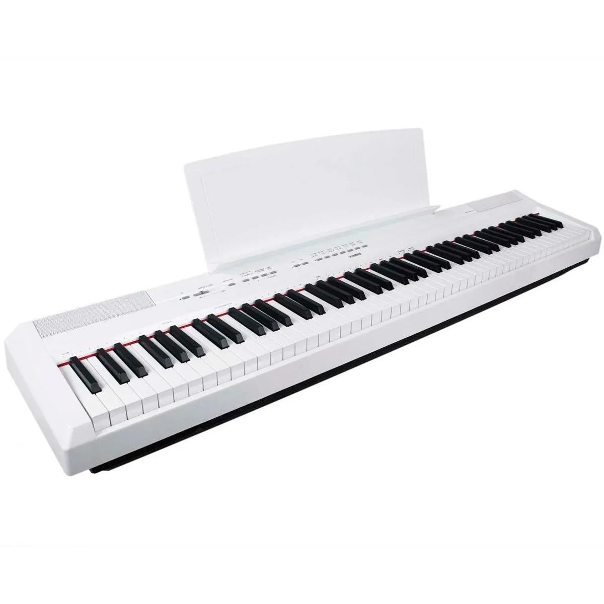 Piano Digital Yamaha P115 Graded Hammer Standard White 88 Teclas