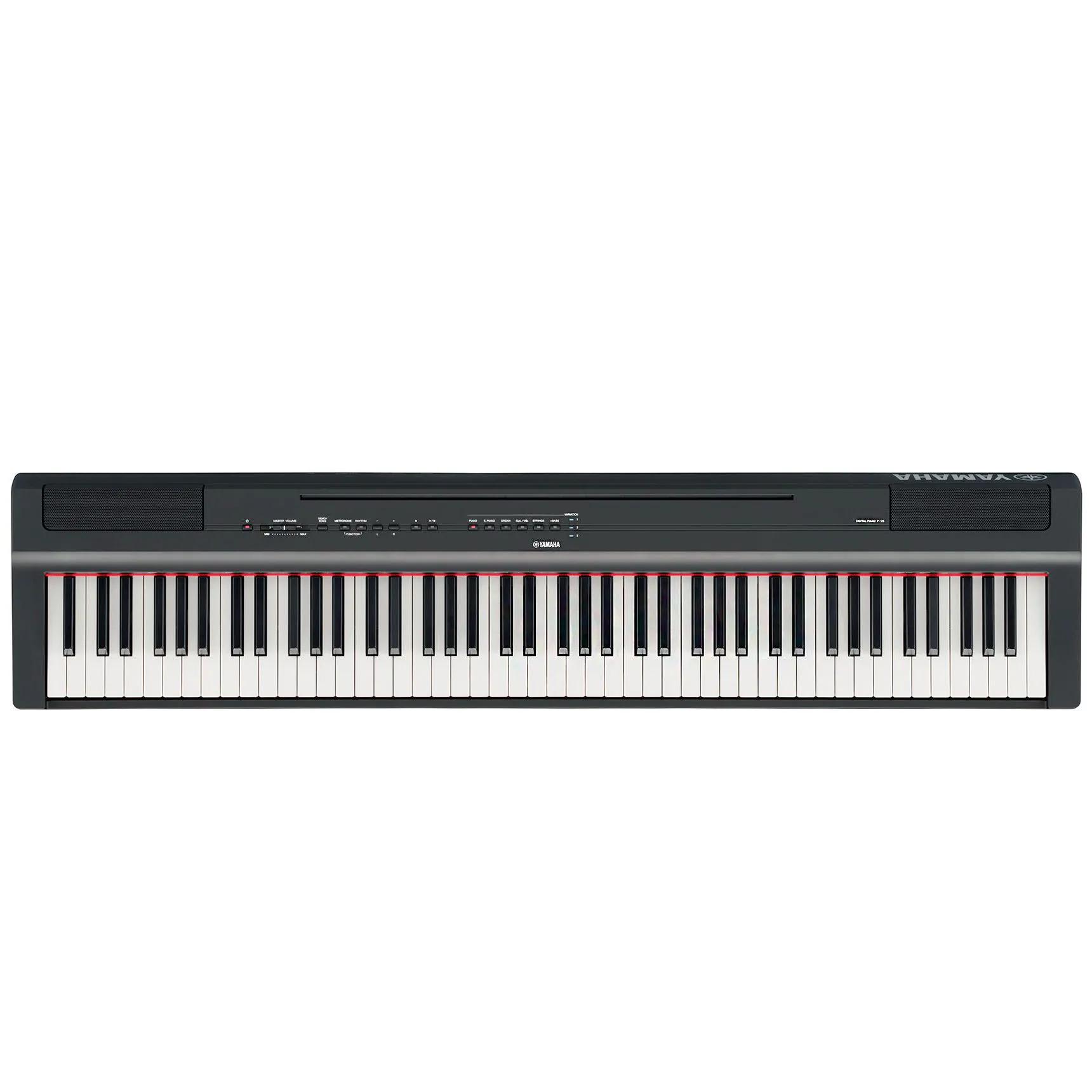 Piano Digital Yamaha P125 88 Teclas USB Black