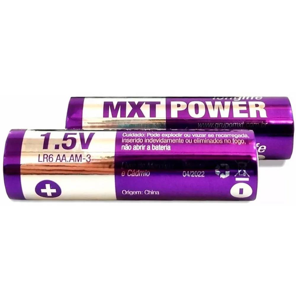 Pilhas Alcalinas MXTPOWER AA2 LR6 1.5V 2 Unidades