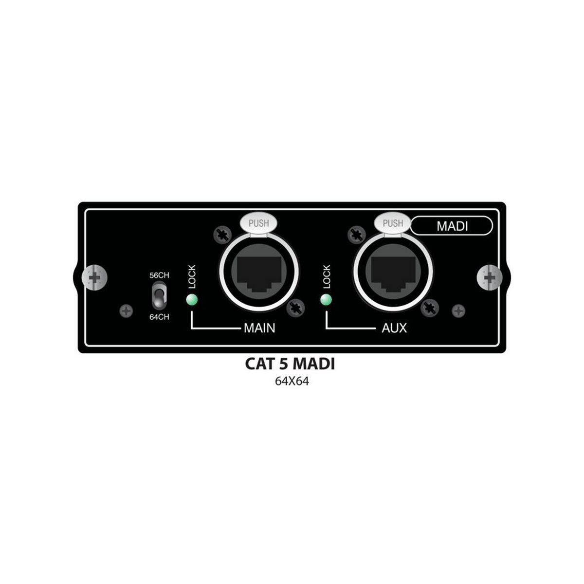 Placa de Som Soundcraft Si CAT5 MADI Card