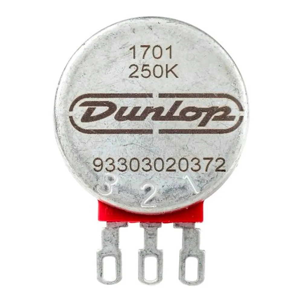 Potenciômetro Dunlop DSP250KBU 250K Eixo Dividido