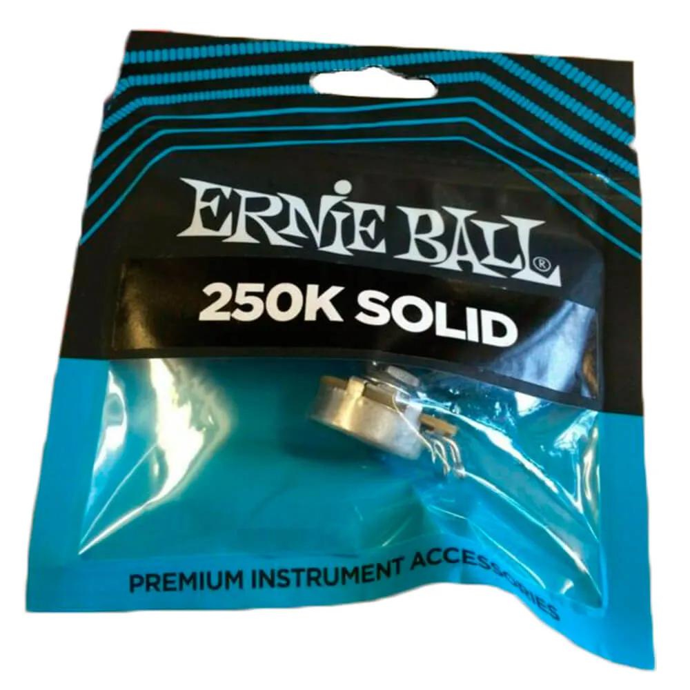 Potenciômetro Ernie Ball P06382 250K Eixo Solido para Instrumentos