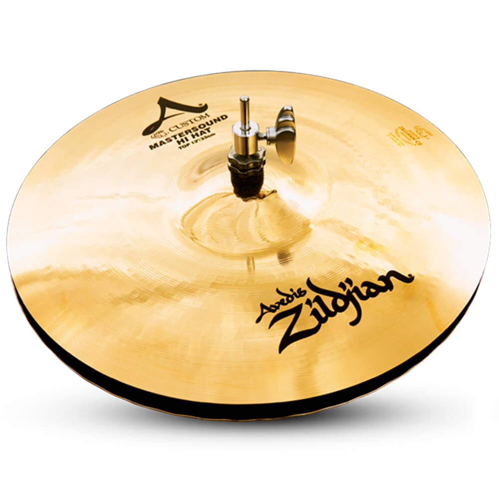 Prato Chimbal Zildjian A20500 A Custom 13 Mastersound Hi-Hat
