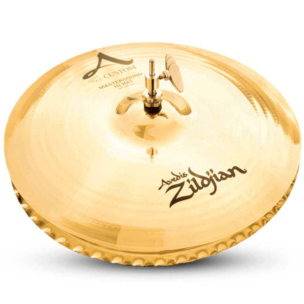Prato Chimbal Zildjian A20553 A Custom 15 Mastersound Hi-Hat