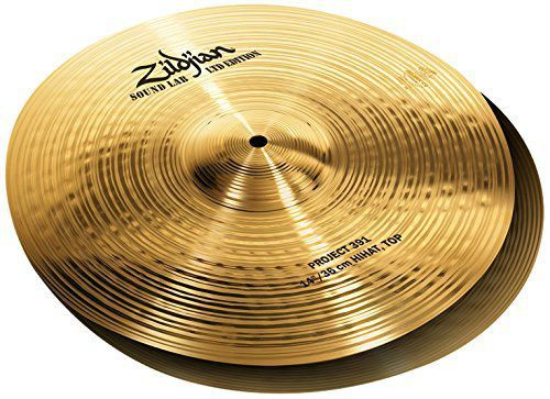 Prato Chimbal Zildjian  Project 391 Ltd Edition 14'' SL14HPR Hi-Hats