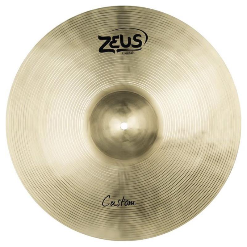 Prato de Condução Zeus Cymbals Custom Series ZCR20 20