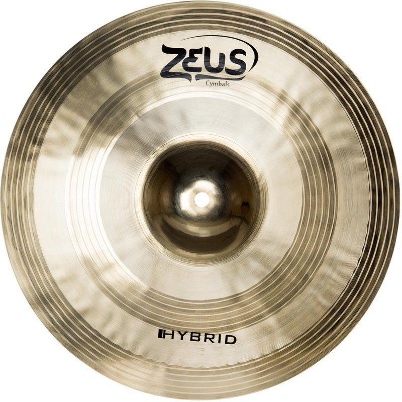 Prato de Efeito Zeus Cymbals Hybrid ZHS10 10