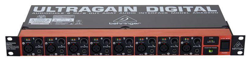 Pré Amplificador Behringer ADA8200 Ultragain