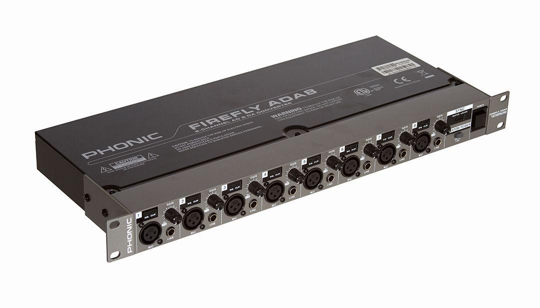 Pré Amplificador Phonic ADA 8 Firefly