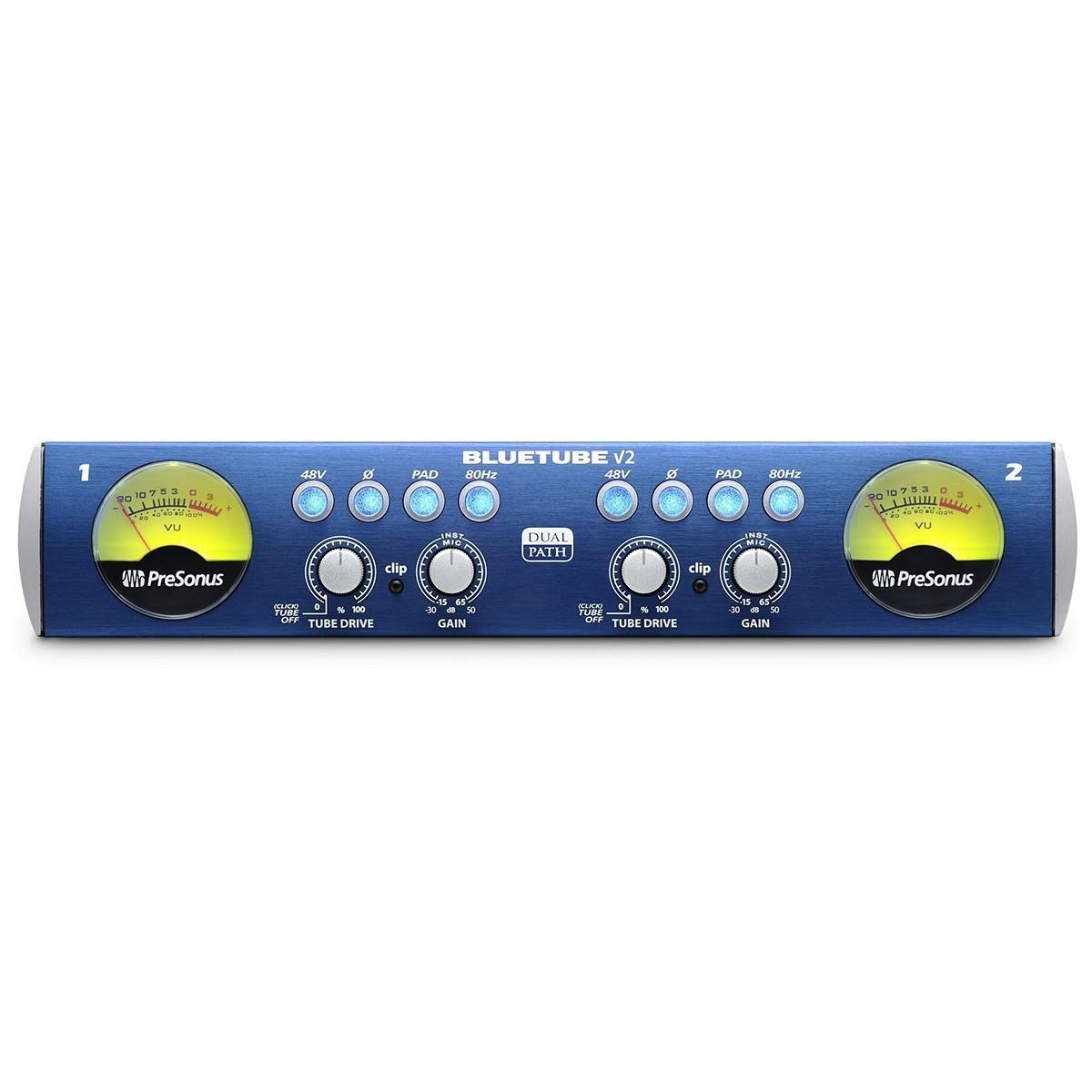 Pré Amplificador Presonus BlueTube DP V2 Valvulado