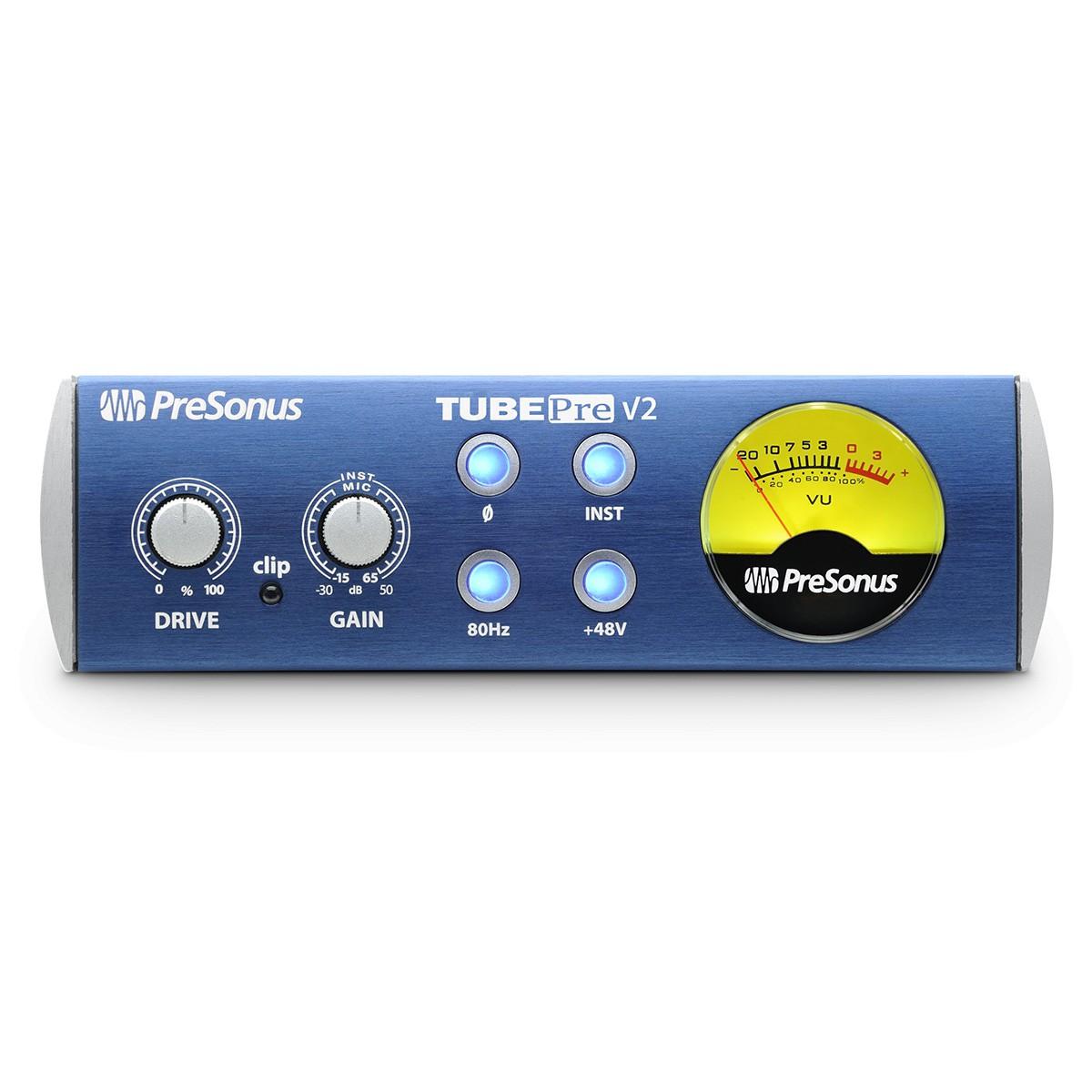 Pré Amplificador Presonus TubePre V2 Valvulado