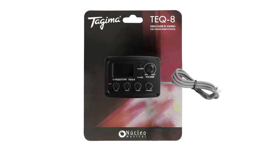Pré Equalizador Tagima TEQ 8 com Afinador