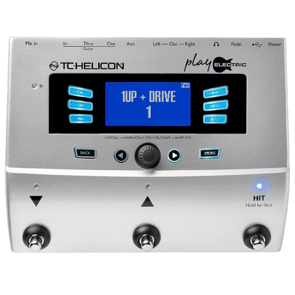 Proces. de efeitos voz/guitarra - PLAY ELECTRIC - TC HELICON