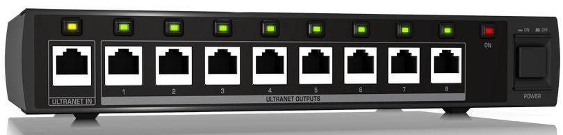Processador de sinal Behringer Powerplay P16-D Ultranet 16 Canais