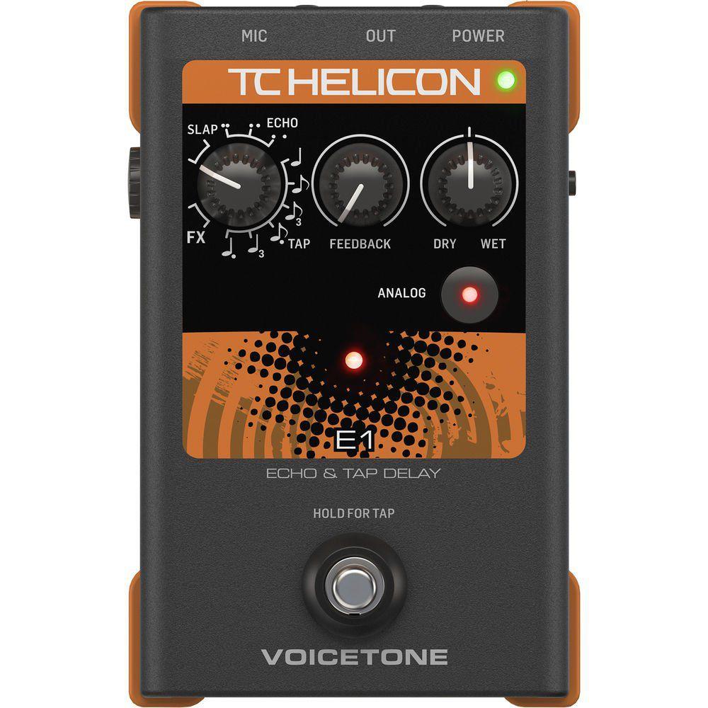 Processador de voz - Voicetone E1- TC HELICON
