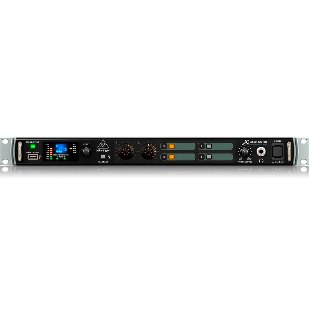 Processador Digital Behringer X32 Core 32 canais C/ Efeitos BiVolt