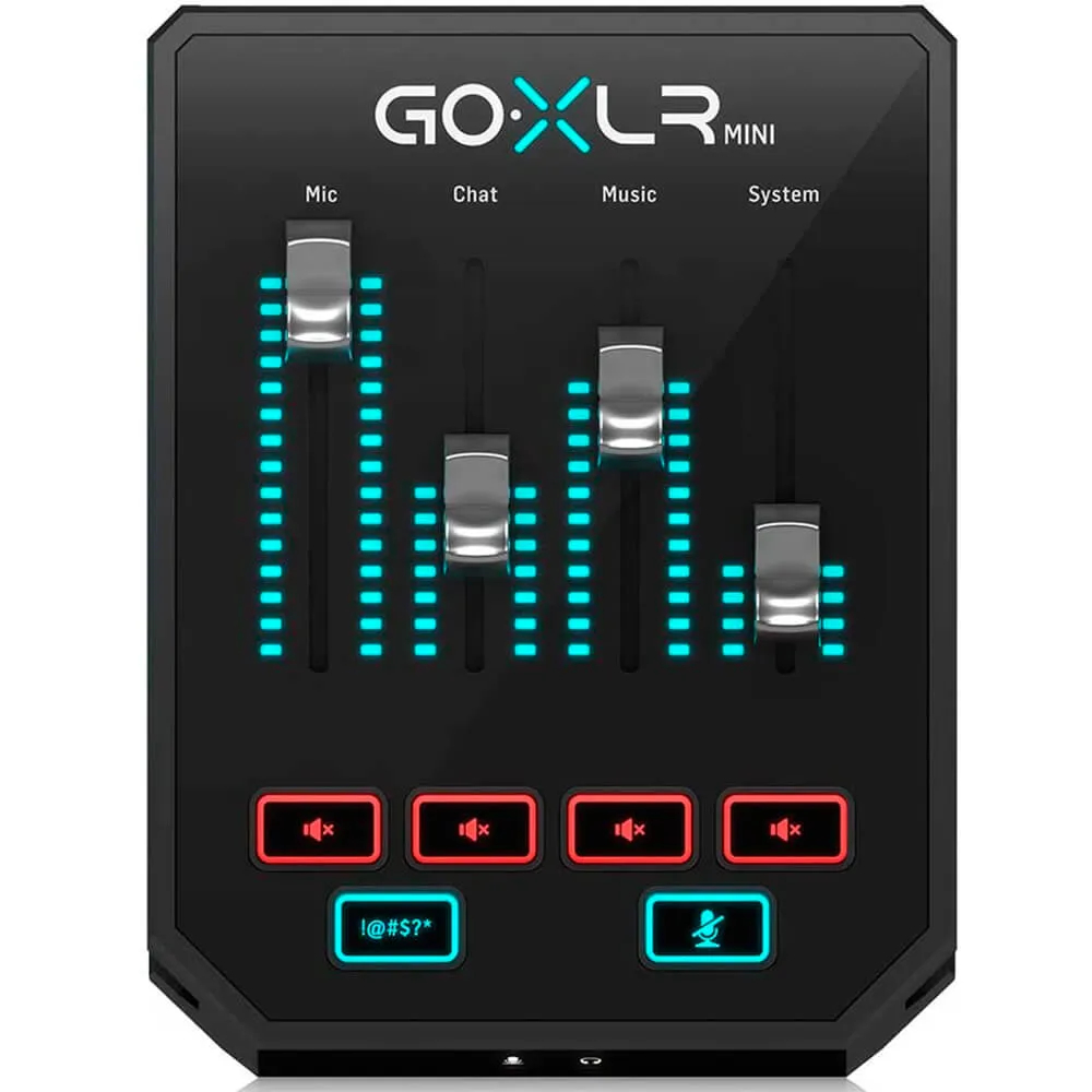 Processador Vocal Multi-efeitos - GO XLR MINI - TC Helicon