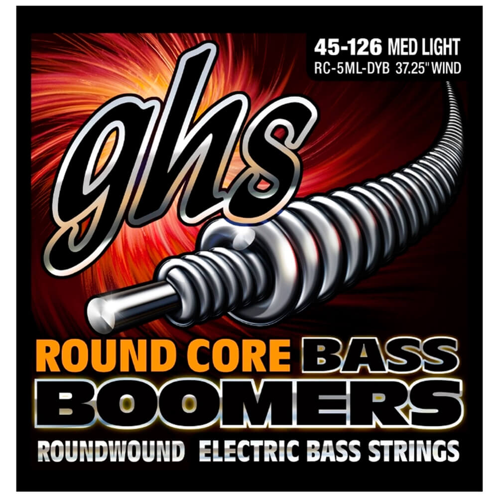 RC-5ML-DYB - ENC BAIXO 5C ROUND CORE BASS BOOMERS 045/126 - GHS