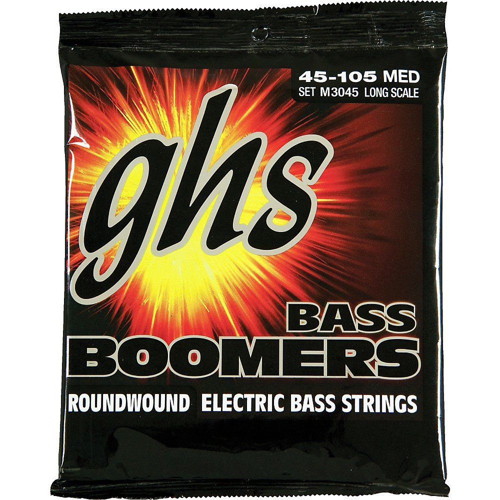 RC-M3045 - ENC BAIXO 4C ROUND CORE BASS BOOMERS 045/105 - GHS