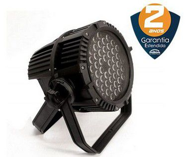 Refletor PLS Par Led 54 Outdoor RGBW 300w DMX