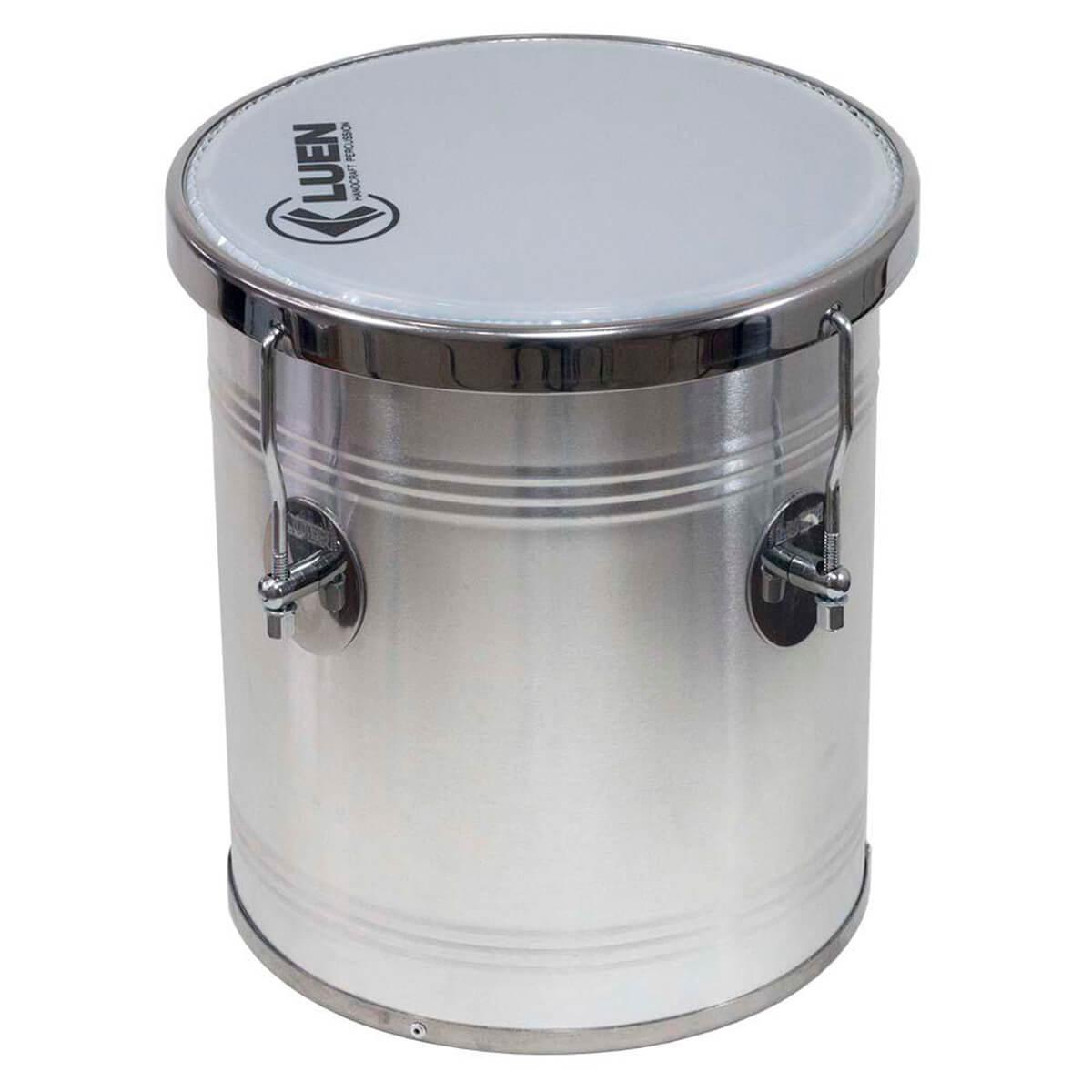 Repique de Mão Luen Percussion 30x10 Alumínio Cromado
