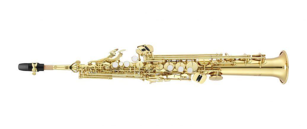 Sax Soprano Jupiter JSS1000 Série 1000 Laqueado Bb com Case