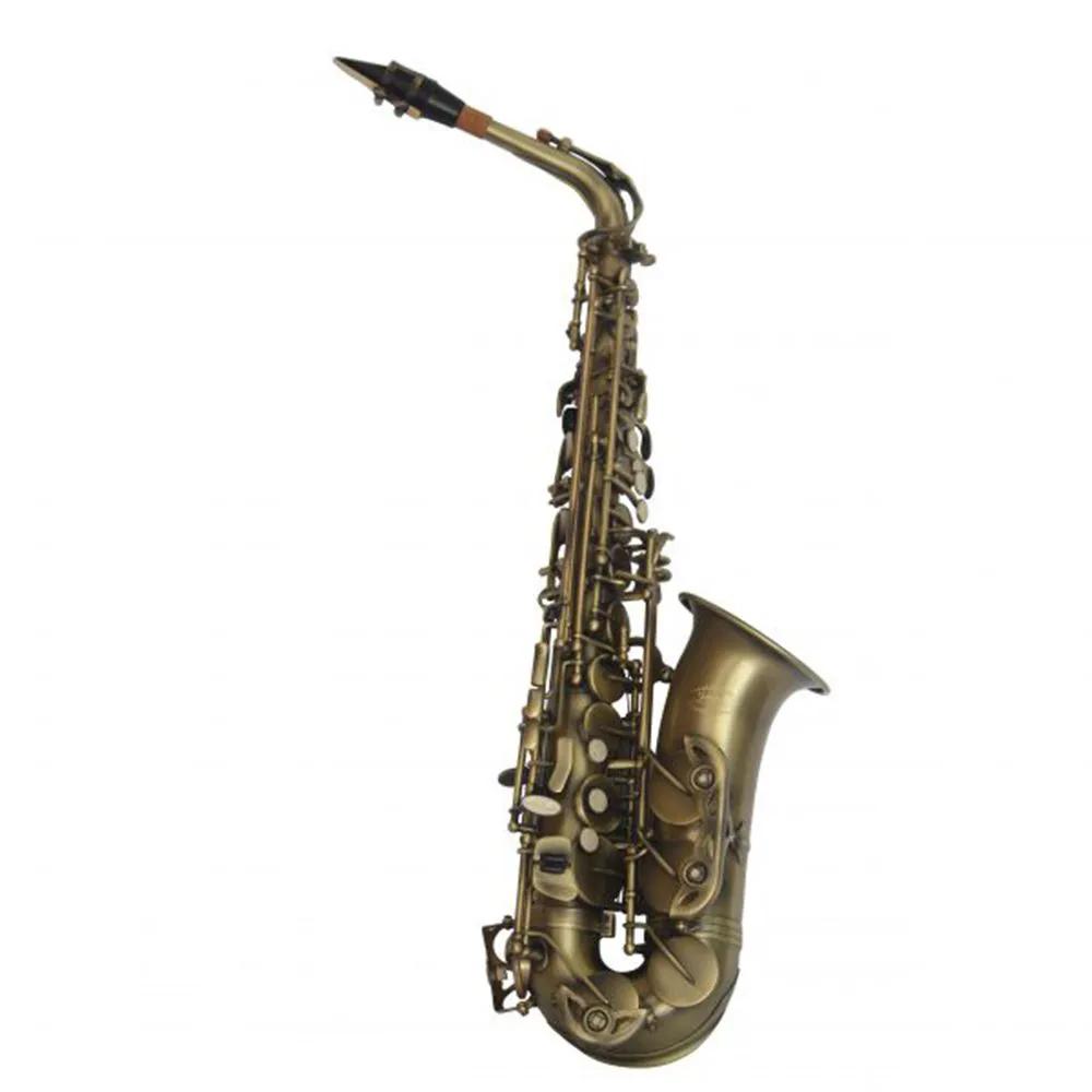 Saxofone Alto Jahnke JSAH001 Envelhecido Mi Bemol