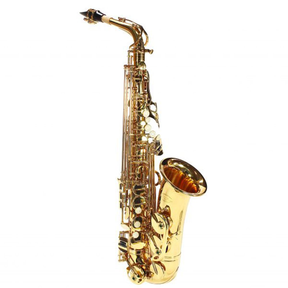 Saxofone Alto Jahnke JSAH001 Laqueado Mi Bemol