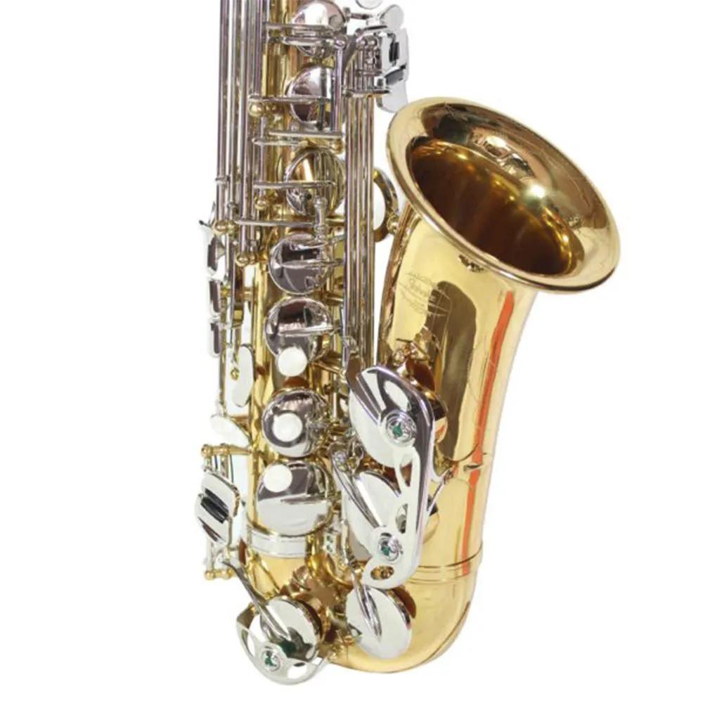 Saxofone Alto Jahnke JSAH001 Laqueado Niquelado Mi Bemol